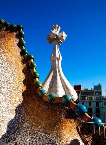 Casa Batlló by Antoni Gaudí