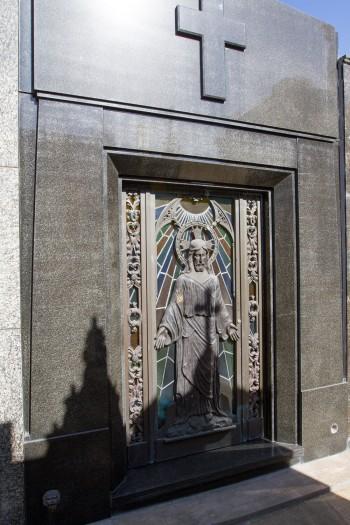 Eva Perón, presidents of Argentina, Nobel Prize winners; La Recoleta Cemetery circa 1732