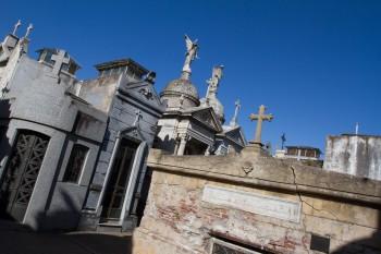 La Recoleta Cemetery circa 1732; Buenos Aires, Argentina