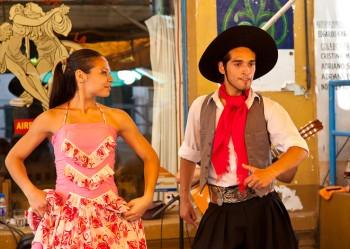 Ubiquitous Tango dance; Buenos Aires, Argentina