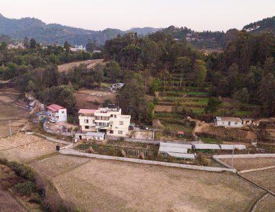 Aerial of Eco Home