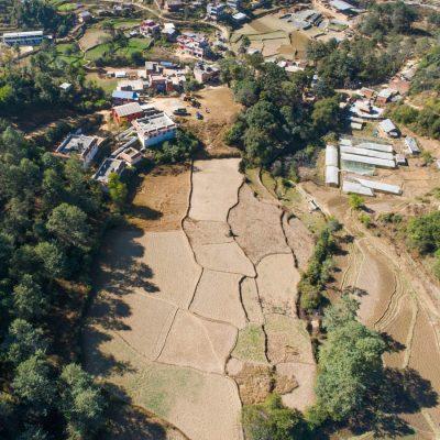 High Aerial Future Eco Home