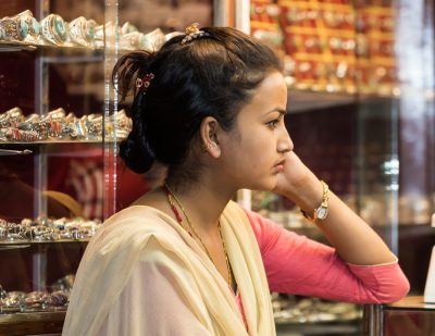 Kathmandu shop keeper