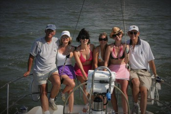 Nice crew, after the regatta.