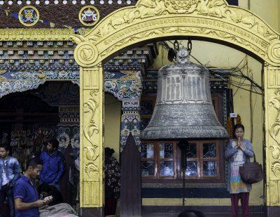 Near great stupa