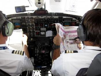 Alert pilots flying to Casablanca