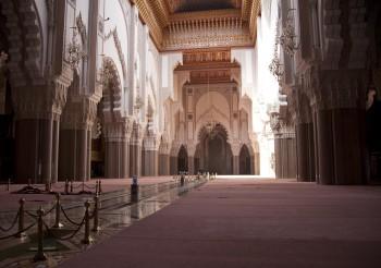 Hassan II Mosque or Grande Mosquée Hassan II, Casablanca, Morocco