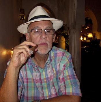 In Rick's bar, Casablanca, Morocco