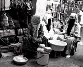Morocco, Marrakesh Food Vendors