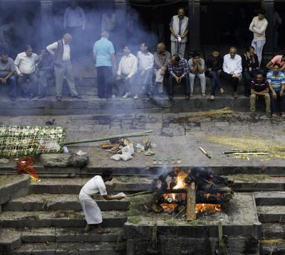 Cremation at gaht