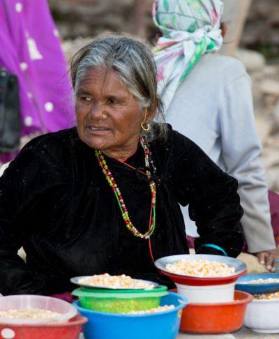 Village lady at Restore Vision