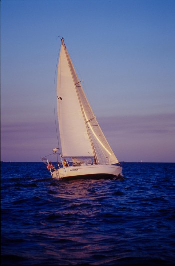 The sailing vessel Parrot Eyes