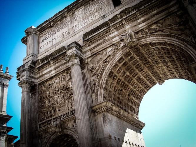Arch of Constantine, 315 C.E.