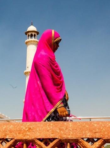 Taj lady