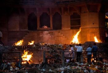Cremation on the Ganga River