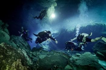 Cenote, Tech Diver