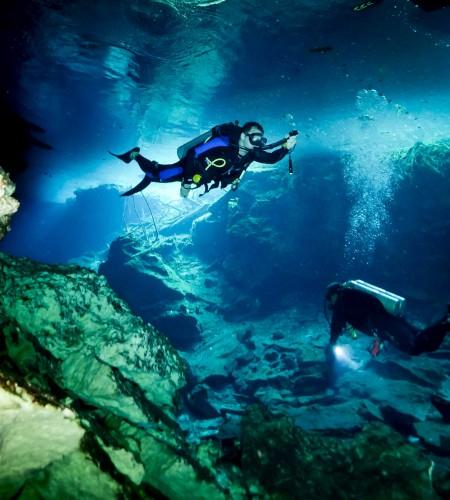 Cenote in the Yuatan